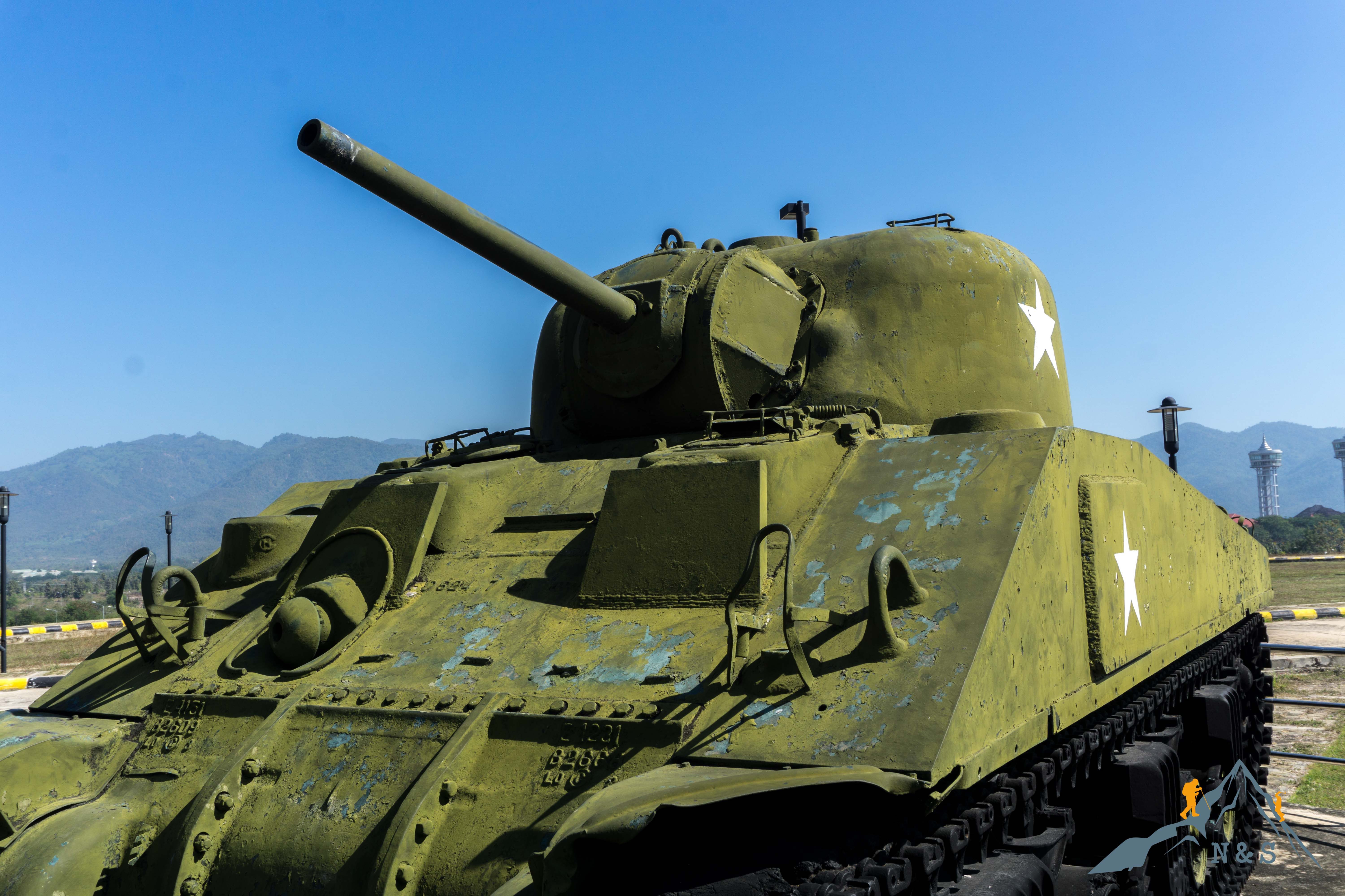 Naypyidaw Tank Museum